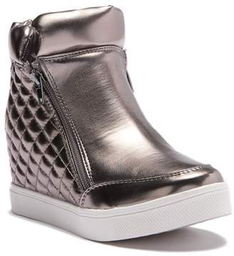 Steve Madden Loops Concealed Heel Wedge Sneaker (Little Kid & Big Kid)