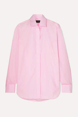 Emma Willis Jermyn Street Cotton-poplin Shirt - Pink
