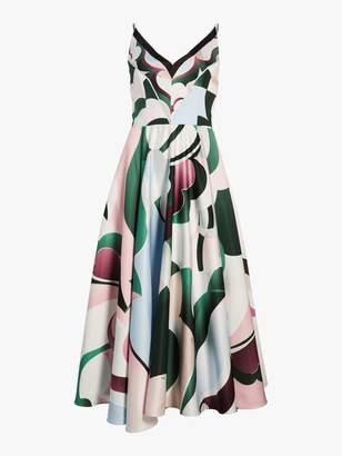Emilio Pucci Sleeveless Tea Length Dress