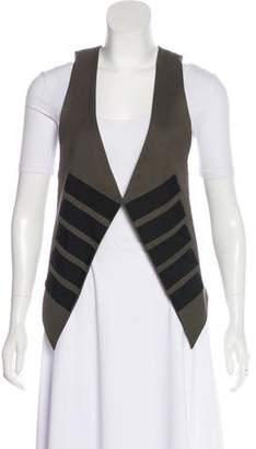 Elizabeth and James Asymmetrical Wool Vest