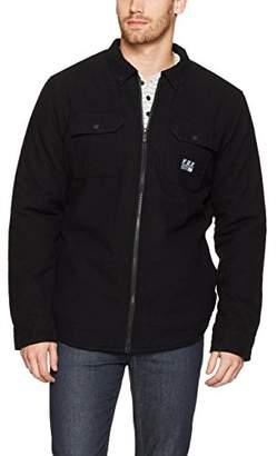 Fox Men's Torrent Sherpa Lined Zip Flannel Jacket