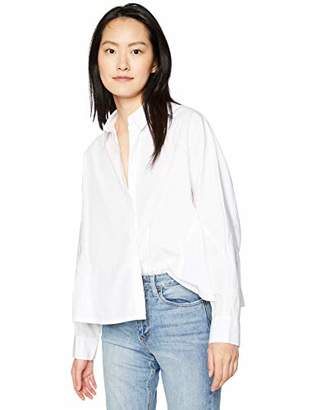 AG Adriano Goldschmied Women's Acoustic Button UP Shirt