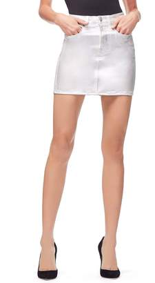 Good American The Iridescent Miniskirt