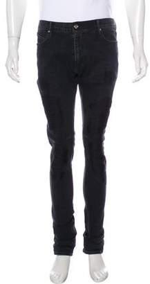 RtA Denim Distressed Skinny Jeans