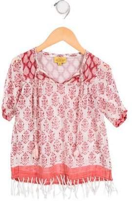 Roberta Roller Rabbit Girls' Printed Fringe Dress