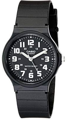 Casio Unisex MQ-71-1BCF Classic Luminous Hands Watch With Black Resin Band