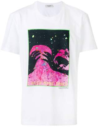 Valentino space print T-shirt