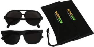 "Emmzoe ""The Little Sunglass"" Sunglasses Aviator and Classic 2 Set - UV 400 Protection"