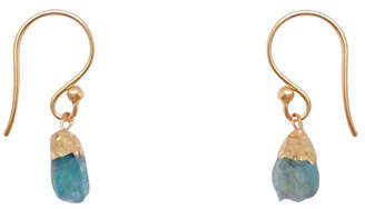 Bronwen Gemstone Nugget Earrings Short