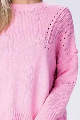 Honey Punch Pink Sweater
