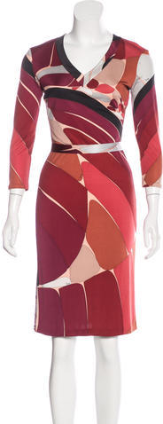 Emilio Pucci Emilio Pucci Silk Jersey Dress