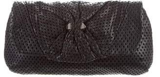 Marc by Marc Jacobs Perforated Leather Clutch