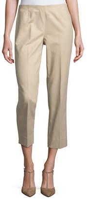Lafayette 148 New York Metro Stretch Lexington Cropped Pants
