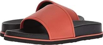 Calvin Klein Men's MACKEE Tumbled Brushed SMTH Slide Sandal