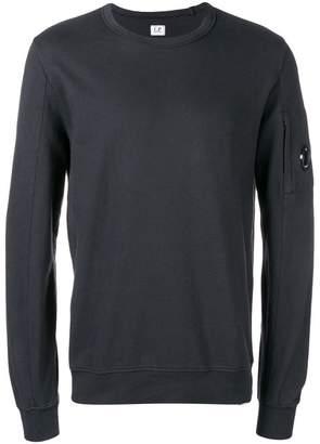 C.P. Company crew neck sleeve pocket sweatshirt