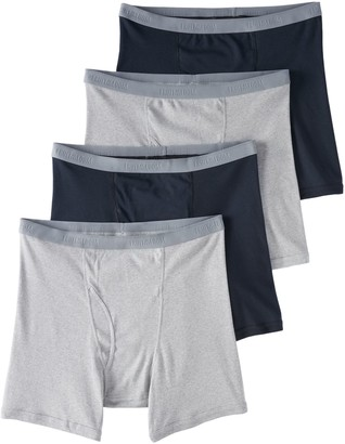 Fruit of the Loom Big & Tall Signature 4-pack Boxer Briefs