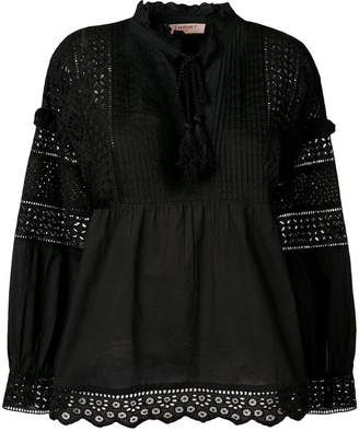 Twin-Set lace crochet blouse
