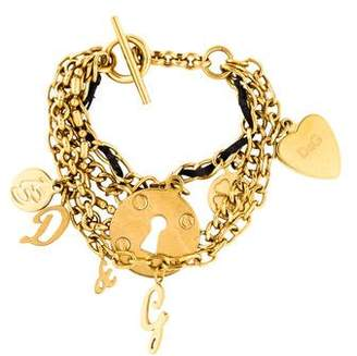 Dolce & Gabbana Charm Multistrand Bracelet