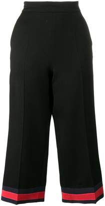 Gucci pajama pant with web detail