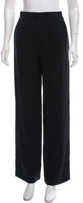 Isaac Mizrahi High-Rise Wide-Leg Pants