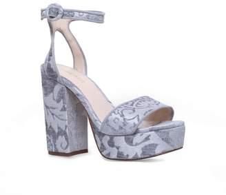 Nine West Grey 'Krewl' Ankle Strap Sandals