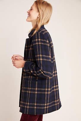 Velvet by Graham & Spencer Jasmann Plaid Wool Coat