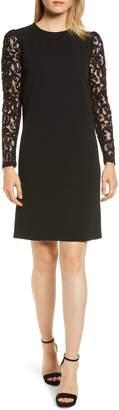 MICHAEL Michael Kors Lace Sleeve Shift Dress