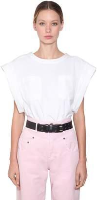 Alberta Ferretti Cotton Jersey T-Shirt