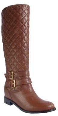 Kate Spade Sutton Quilted Leather Boots