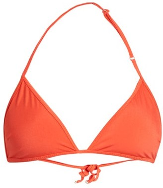 Bower - Bang Triangle Bikini Top - Womens - Red