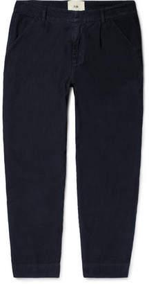 Folk Cotton-Corduroy Trousers