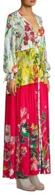 Rococo Sand Floral-Print Maxi Dress