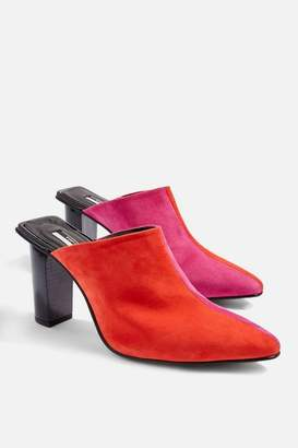 Topshop Glow Two Tone Mules