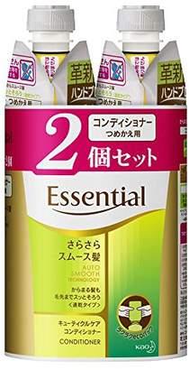 Essentiel (エッセンシャル) - エッセンシャル コンディショナー さらさらスムース髪 つめかえ用 340ml×2個