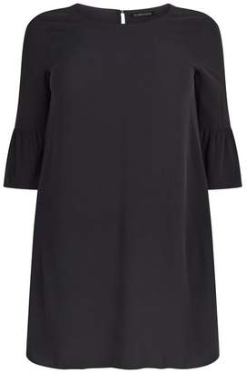 Eileen Fisher Ruffle Sleeve Dress