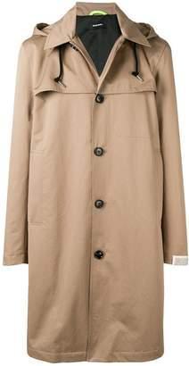 Diesel J-Haruo trench parka coat