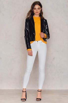 Cheap Monday High Spray White Jeans White