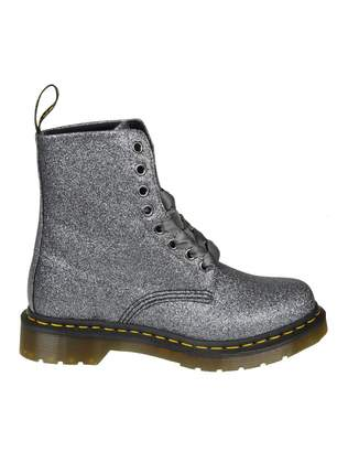 Dr. Martens pascal Boots In Glittered Anthracite Leather