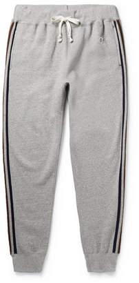 Todd Snyder Kingsman Champion Harry's Tapered Fleece-Back Cotton-Blend Jersey Sweatpants