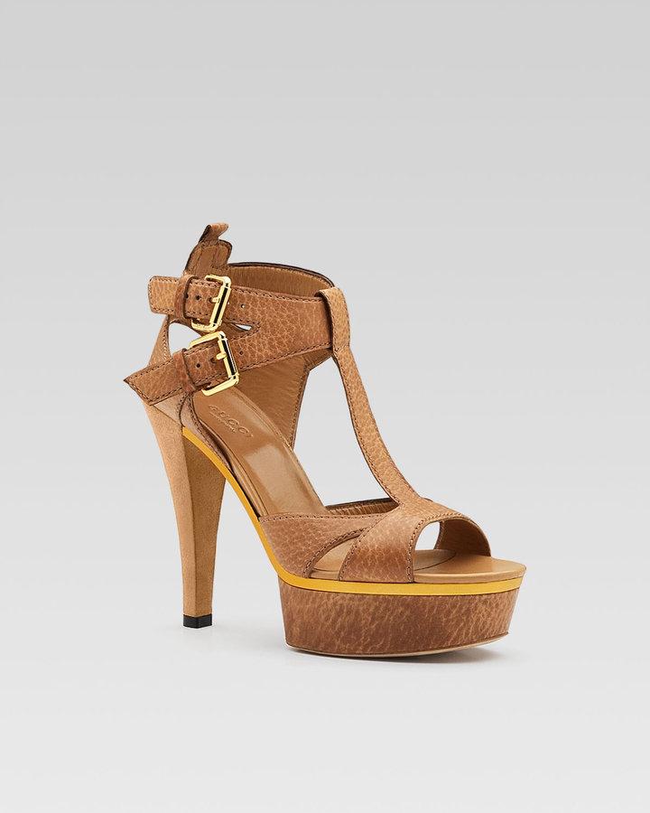 Gucci Iman T-Strap Sandal