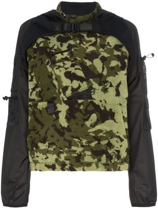 Nike X MMW 2-in-1 camo hooded jacket