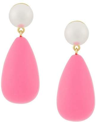 Eshvi teardrop earrings