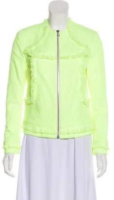 Alexis Fringe Long Sleeve Jacket