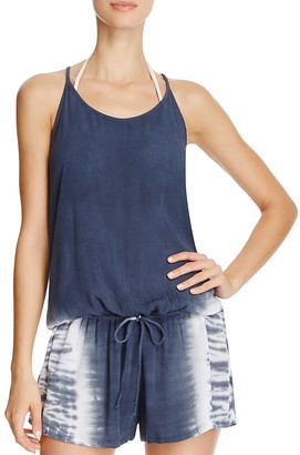 Lucky Brand Hasy Day Romper Swim Cover Up $78 thestylecure.com