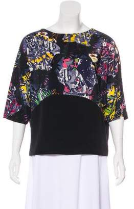 Zero Maria Cornejo Printed Short Sleeve Top