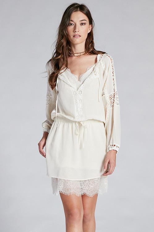 Gold Hawk - Janice Lace Dress