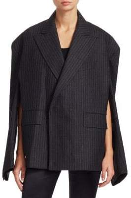 Junya Watanabe Double-Breasted Cape Sleeve Blazer Jacket