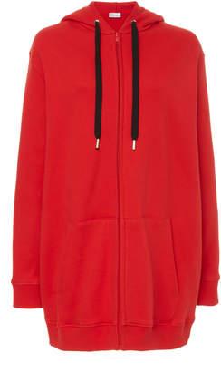 RED Valentino Wild Pride Embroidered Cotton-Blend Jacket