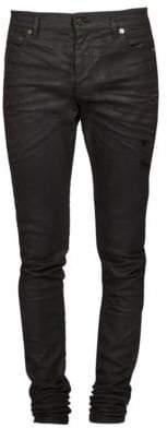 Saint Laurent Raw Slim Fit Jeans