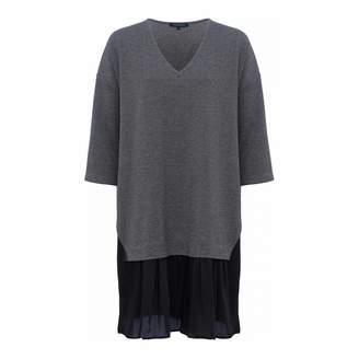 Grey Estella Jersey Tunic Dress
